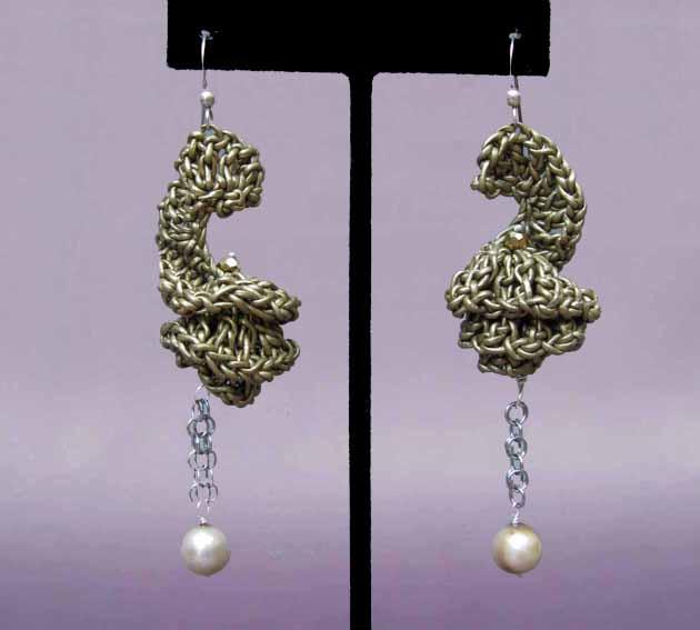 Chrochet earring